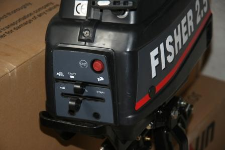 Рычаги управления двигателм Фишер 2.5